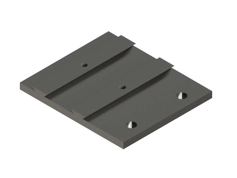linea m mounting plate 0-70 SET